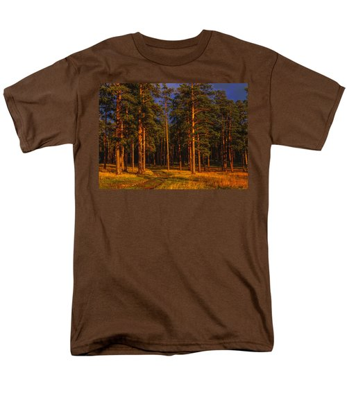 Forest After Rain Storm Men's T-Shirt  (Regular Fit) by Vladimir Kholostykh
