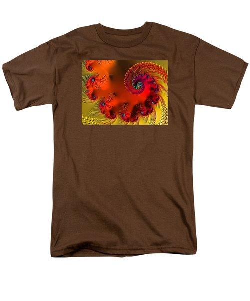 Fractal Art - Breath Of The Dragon Men's T-Shirt  (Regular Fit)