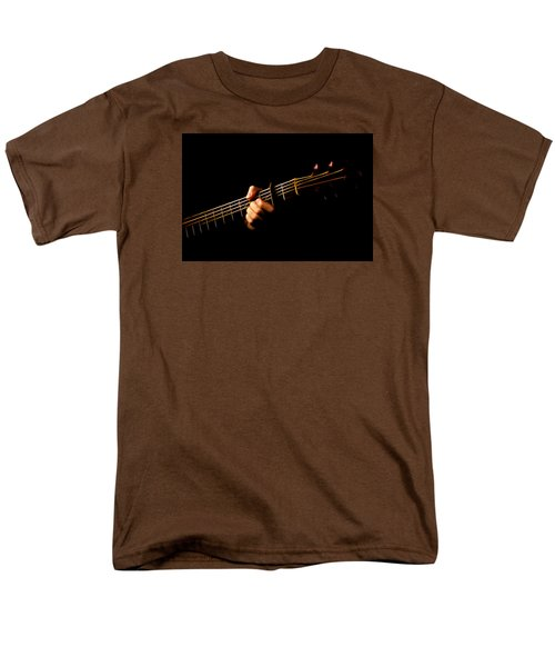 Men's T-Shirt  (Regular Fit) featuring the photograph Fractal Frets by Cameron Wood
