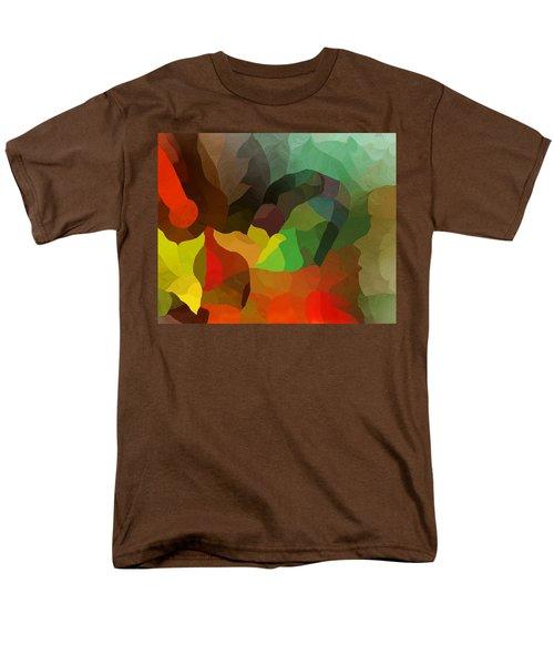 Frolic In The Woods Men's T-Shirt  (Regular Fit) by David Lane