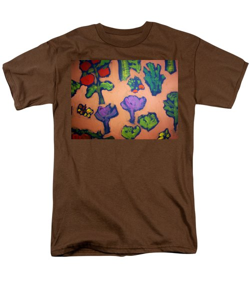 Men's T-Shirt  (Regular Fit) featuring the painting From The Earth by Winsome Gunning