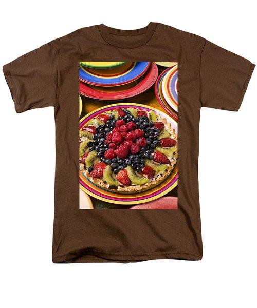 Fruit Tart Pie Men's T-Shirt  (Regular Fit) by Garry Gay