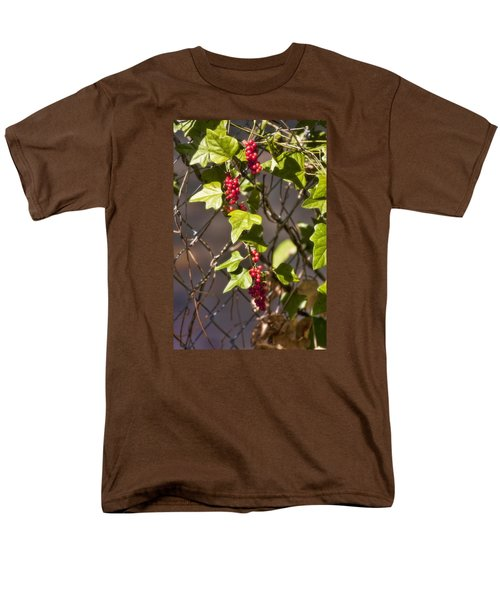 Men's T-Shirt  (Regular Fit) featuring the photograph Fruits Of Autumn by Joan Bertucci