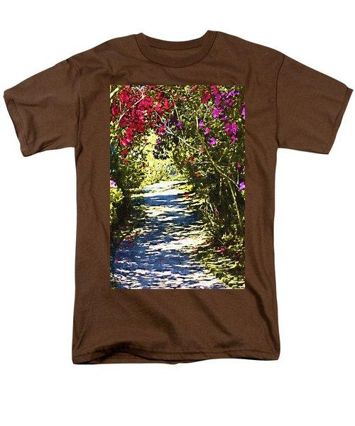 Men's T-Shirt  (Regular Fit) featuring the photograph Garden by Donna Bentley
