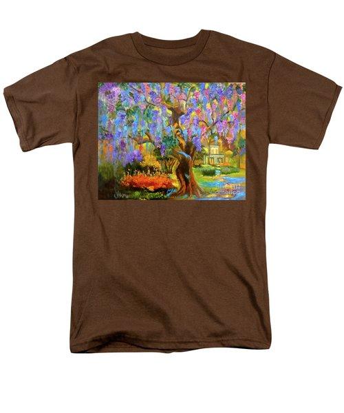 Garden Pathway Men's T-Shirt  (Regular Fit) by Jenny Lee