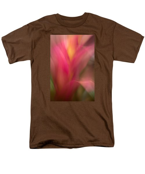 Ginger Flower Blossom Abstract Men's T-Shirt  (Regular Fit) by Catherine Lau