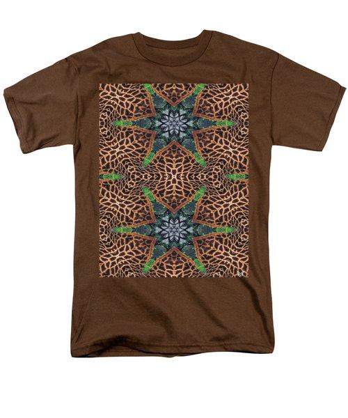 Giraffe Stars Men's T-Shirt  (Regular Fit) by Maria Watt