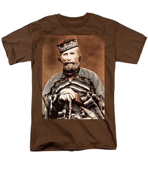 Men's T-Shirt  (Regular Fit) featuring the photograph Giuseppe Garibaldi by Roberto Prusso