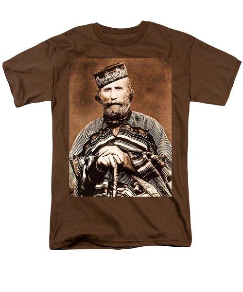 Giuseppe Garibaldi Men's T-Shirt  (Regular Fit) by Roberto Prusso