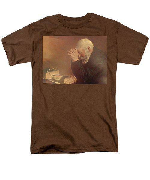 Give Us This Day Men's T-Shirt  (Regular Fit) by Tina M Wenger