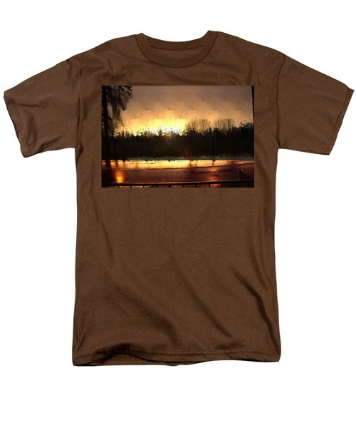 Glassy Dawn Men's T-Shirt  (Regular Fit) by Terence Morrissey