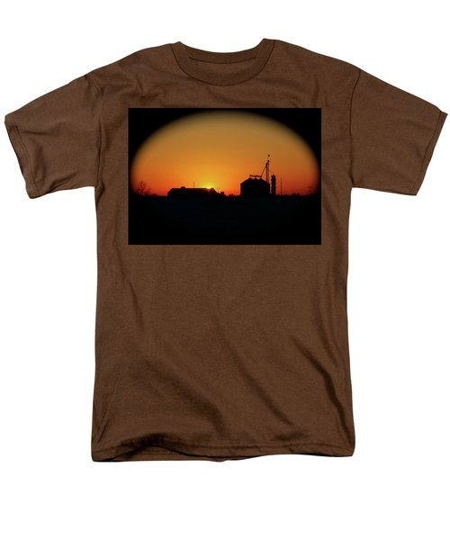 Global Sunset Men's T-Shirt  (Regular Fit) by Sue Stefanowicz