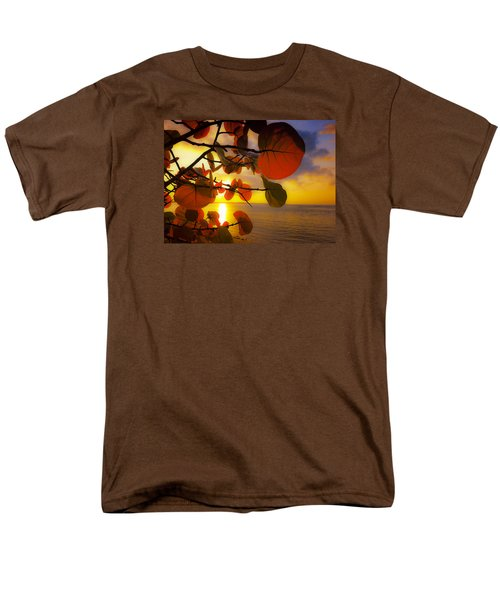 Glowing Red II Men's T-Shirt  (Regular Fit) by Stephen Anderson