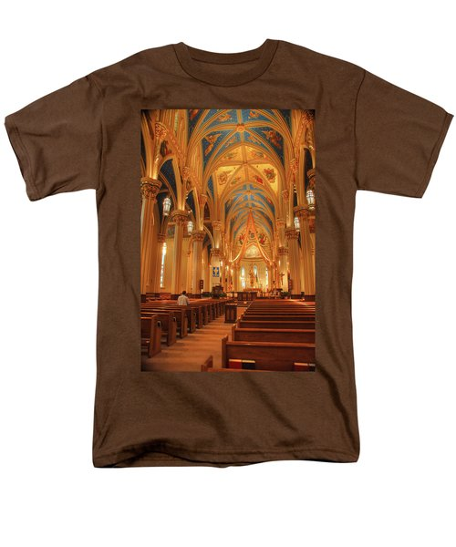 God Do You Hear Me Men's T-Shirt  (Regular Fit) by Ken Smith