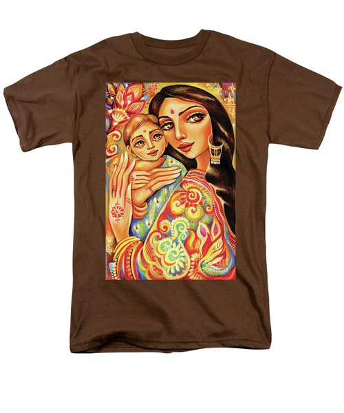 Goddess Blessing Men's T-Shirt  (Regular Fit) by Eva Campbell