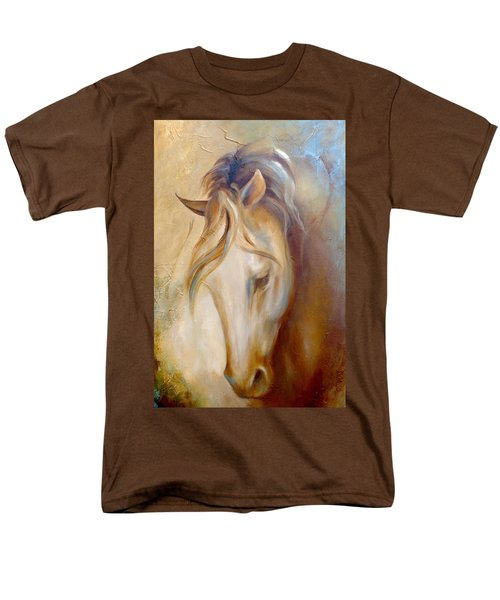 Men's T-Shirt  (Regular Fit) featuring the painting Gold Dust 2 by Dina Dargo