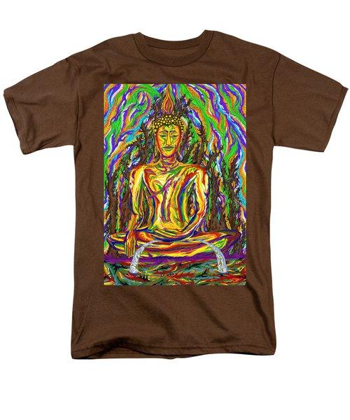 Golden Buddha Men's T-Shirt  (Regular Fit) by Robert SORENSEN