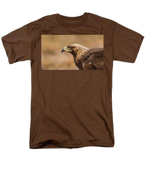 Golden Eagle's Portrait Men's T-Shirt  (Regular Fit) by Torbjorn Swenelius