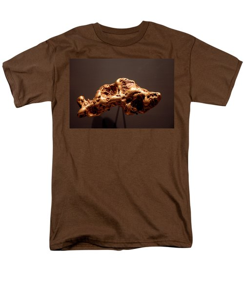 Golden Nugget Men's T-Shirt  (Regular Fit) by LeeAnn McLaneGoetz McLaneGoetzStudioLLCcom