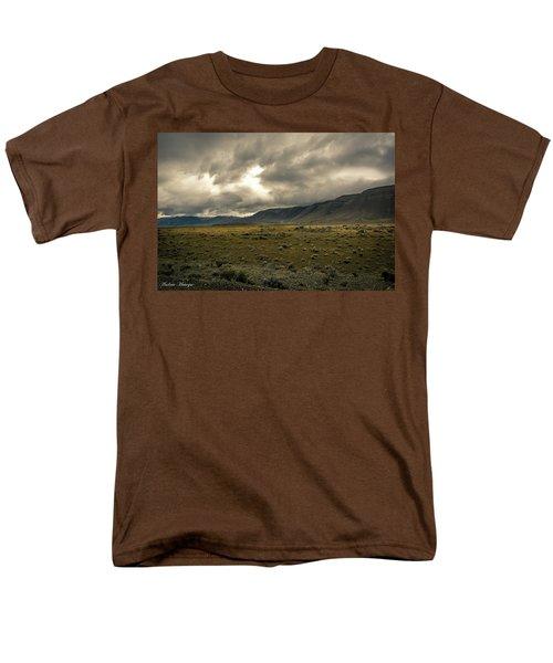 Men's T-Shirt  (Regular Fit) featuring the photograph Golden Storm by Andrew Matwijec