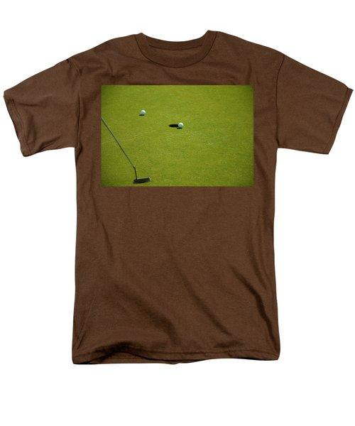 Golf - The Longest Inch Men's T-Shirt  (Regular Fit) by Chris Flees