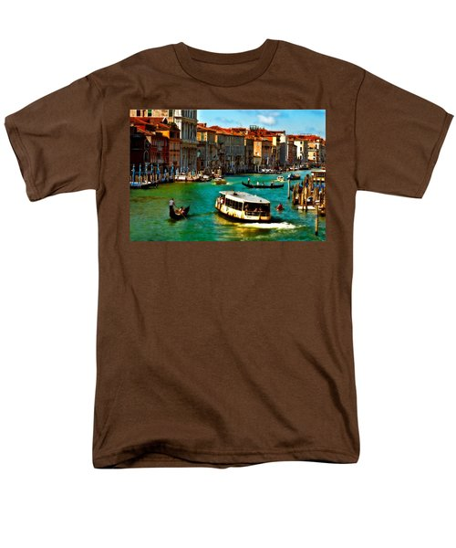 Grand Canal Daytime Men's T-Shirt  (Regular Fit) by Harry Spitz