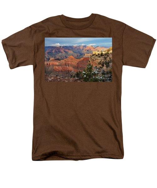 Grand Canyon View Men's T-Shirt  (Regular Fit) by Debby Pueschel