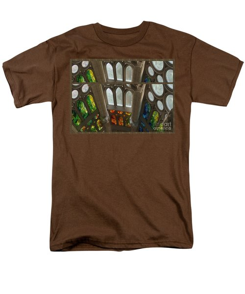 Graphic Art From Photo Library Of Photographic Collection Of Christian Churches Temples Of Place Of  Men's T-Shirt  (Regular Fit) by Navin Joshi