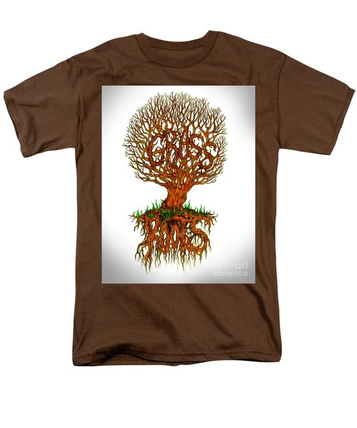 Grass Roots Men's T-Shirt  (Regular Fit)
