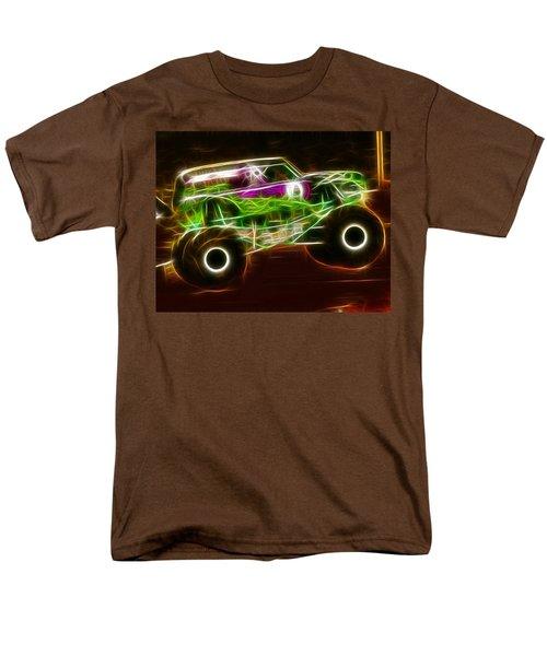Grave Digger Monster Truck Men's T-Shirt  (Regular Fit) by Paul Van Scott