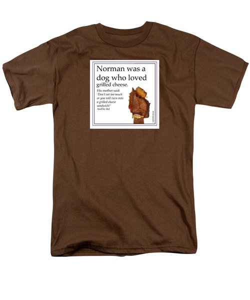 Grilled Cheese Dog Men's T-Shirt  (Regular Fit) by Graham Harrop