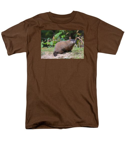 Groundhog  0590 Men's T-Shirt  (Regular Fit) by Jack Schultz