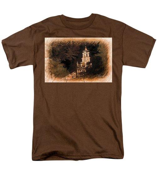 Grungy Todos Santos Men's T-Shirt  (Regular Fit) by Al Bourassa