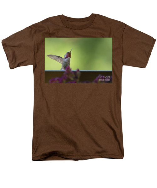Men's T-Shirt  (Regular Fit) featuring the photograph Guarding The Turf by Anne Rodkin