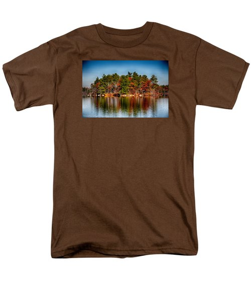 Haggetts Reflections Men's T-Shirt  (Regular Fit) by Tricia Marchlik