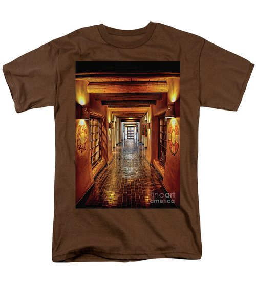 Men's T-Shirt  (Regular Fit) featuring the photograph Halls Of Loretto by Gina Savage