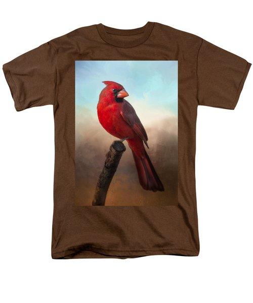 Handsome Cardinal Men's T-Shirt  (Regular Fit)