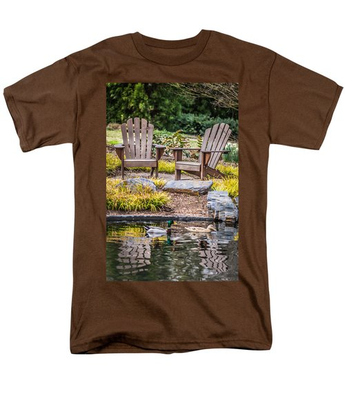 Happiness Goes On Men's T-Shirt  (Regular Fit) by Wade Brooks