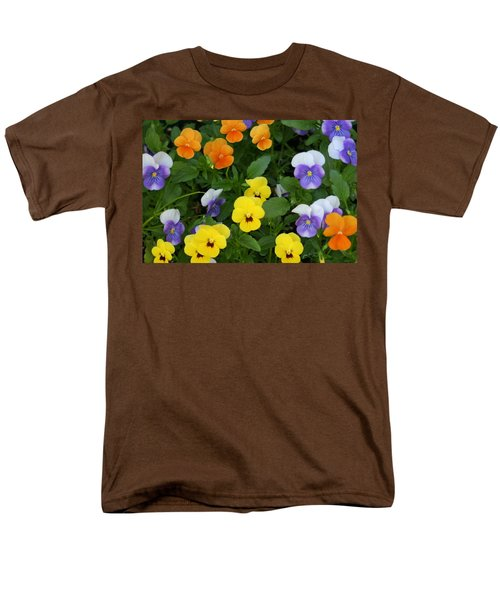 Men's T-Shirt  (Regular Fit) featuring the digital art Happy Faces by Barbara S Nickerson