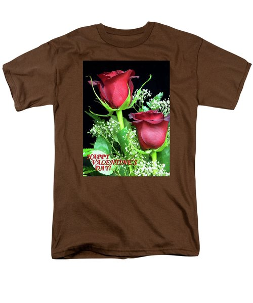 Men's T-Shirt  (Regular Fit) featuring the photograph Happy Valentines Day by Sandi OReilly