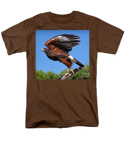 Harris's Hawk Men's T-Shirt  (Regular Fit) by Martin Konopacki