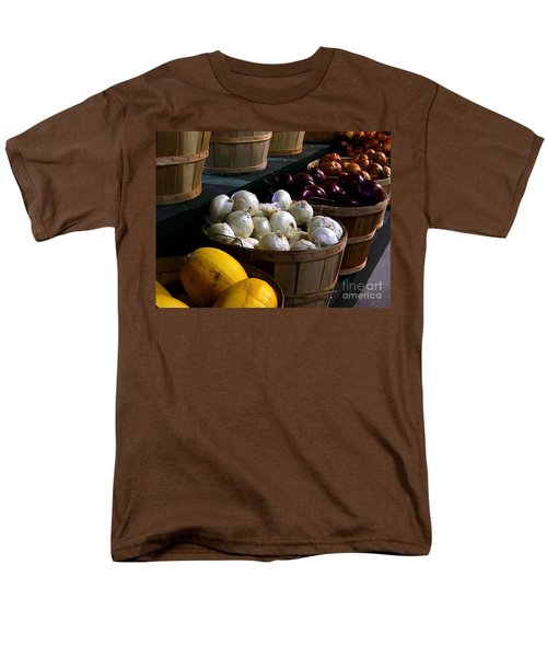 Men's T-Shirt  (Regular Fit) featuring the photograph Harvest by Elfriede Fulda