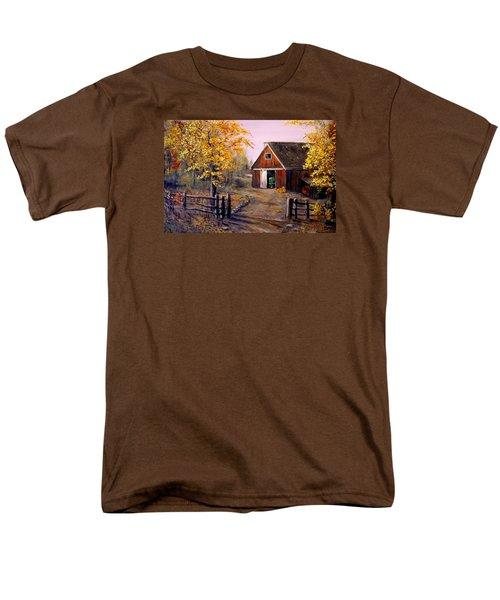 Harvest Time Men's T-Shirt  (Regular Fit) by Alan Lakin