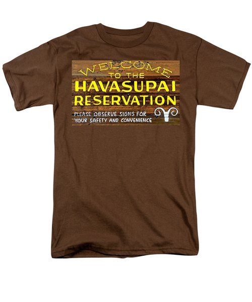 Havasupai Reservation Men's T-Shirt  (Regular Fit) by Joseph Hendrix
