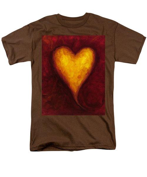 Heart Of Gold 1 Men's T-Shirt  (Regular Fit)