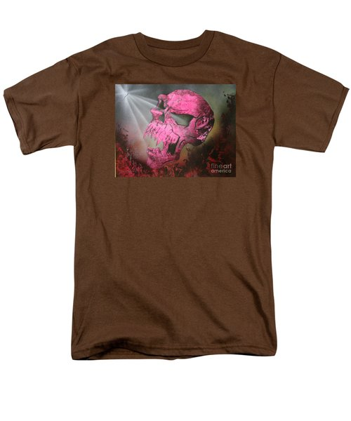 Men's T-Shirt  (Regular Fit) featuring the painting Hell by Tbone Oliver