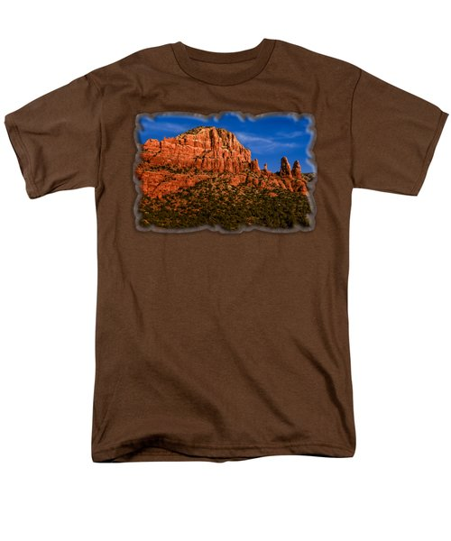 Her Majesty Men's T-Shirt  (Regular Fit) by Mark Myhaver