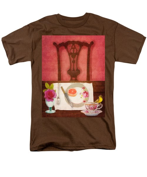 Her Place At The Table Men's T-Shirt  (Regular Fit) by Lisa Noneman