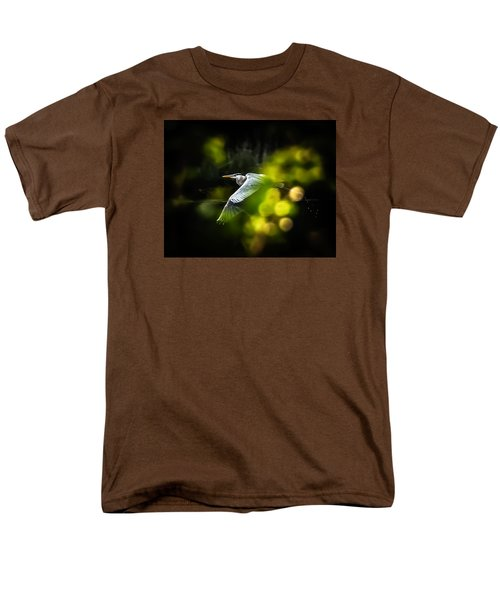 Heron Launch Men's T-Shirt  (Regular Fit) by Jim Proctor