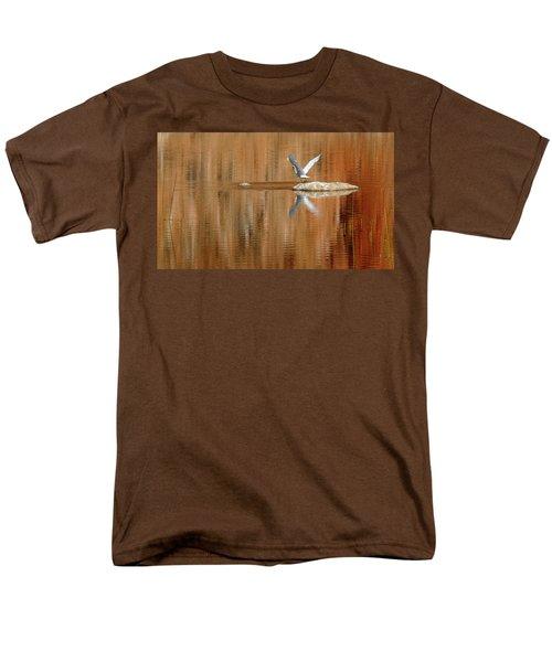 Heron Tapestry Men's T-Shirt  (Regular Fit) by Evelyn Tambour